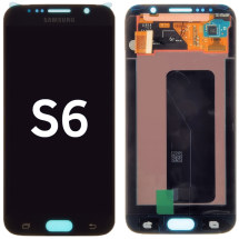 OLED & Digitizer Assembly for Samsung Galaxy S6 (G920) (Black Sapphire) (OEM)