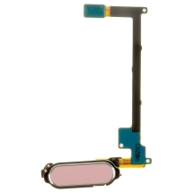 Flex Cable (with Home Button) for Samsung Galaxy Note 4 (Pink) (Closeout)