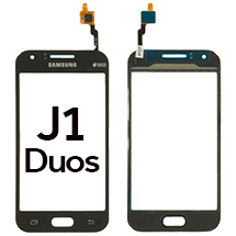 Digitizer for Samsung Galaxy J1 Duos (Black) (OEM) (Closeout)