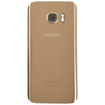 Back Glass for Samsung Galaxy S7 (Gold Platinum) (OEM)