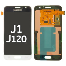 OLED & Digitizer Assembly for Samsung Galaxy J1 (2016) (White) (OEM)