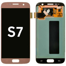 OLED & Digitizer Assembly for Samsung Galaxy S7 (Pink Gold) (Aftermarket)