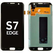 OLED & Digitizer Assembly for Samsung Galaxy S7 Edge (Onyx) (Aftermarket)