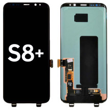 OLED & Digitizer Assembly for Samsung Galaxy S8+ (Black) (Aftermarket)