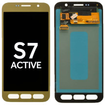 OLED & Digitizer Assembly for Samsung Galaxy S7 Active (Gold) (Aftermarket)