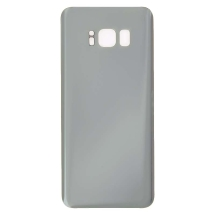 Back Glass for Samsung Galaxy S8 (Silver) (Aftermarket)