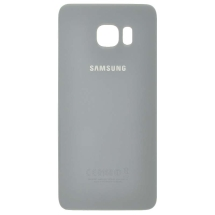 Back Glass for Samsung Galaxy S6 Edge+ (Silver) (OEM) (Closeout)