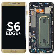 OLED, Digitizer, & Frame Assembly for Samsung Galaxy S6 Edge+ (International) (Gold) (OEM) (Closeout)