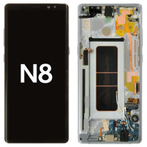 OLED, Digitizer & Frame Assembly for Samsung Galaxy Note 8 (Orchid) (Aftermarket)