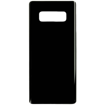 Back Glass for Samsung Galaxy Note 8 (Black) (Aftermarket)