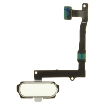 Flex Cable (Home Button) for Samsung Galaxy S6 Edge+ (White) (Closeout)