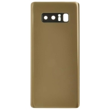 Back Glass with Camera Lens for Samsung Galaxy Note 8 (Gold) (Aftermarket)