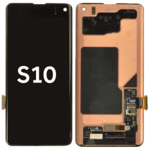 OLED & Digitizer Assembly for Samsung Galaxy S10 (Black) (Aftermarket)