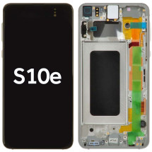 OLED, Digitizer & Frame Assembly for Samsung Galaxy S10e (G970) (Prism White) (OEM)
