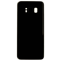 Back Glass with Camera Lens for Samsung Galaxy S8 (Black) (Aftermarket)