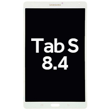 OLED & Digitizer Assembly for Samsung Galaxy Tab S 8.4 (White)