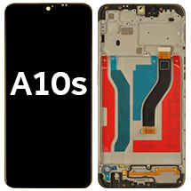 LCD, Digitizer, & Frame Assembly for Samsung Galaxy A10s (Black)