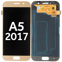 OLED & Digitizer Assembly for Samsung Galaxy A5 (2017) (Gold) (Aftermarket)