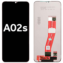 LCD & Digitizer Assembly for Samsung Galaxy A02s (International) (Aftermarket) (Black)