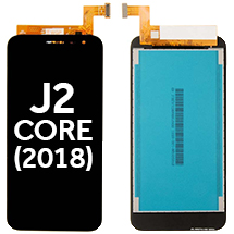 LCD & Digitizer Assembly for Samsung Galaxy J2 Core (2018) (Black) (Aftermarket)