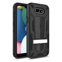 Zizo 2 Piece Hybrid Case with Stand for LG K8x (2020) & Aristo 5 (Black)
