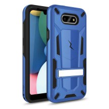 Zizo 2 Piece Hybrid Case with Stand for LG K8x (2020) & Aristo 5 (Blue & Black)