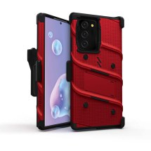 Zizo Bolt Case with Stand for Samsung Galaxy Note 20 Ultra (Red & Black)