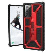 UAG Monarch Case for Samsung Galaxy Note 20 (Crimson & Black) (Closeout)