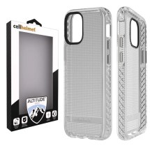 Cellhelmet Altitude X Case for Apple iPhone 12 Mini (Clear)