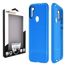 Cellhelmet Altitude X Case for Samsung Galaxy A11 (Blue)