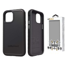 Cellhelmet Fortitude Case for Apple iPhone 12 Mini (Onyx Black)
