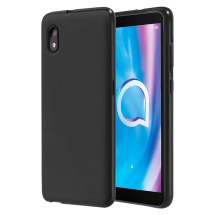 Silicone Case for Alcatel 1B (2020) (Black)