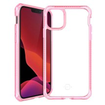 ITSKINS Clear Hybrid Case for Apple iPhone 12 Mini (Light Pink & Clear) (Closeout)