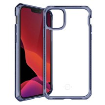 ITSKINS Clear Hybrid Case for Apple iPhone 12 Mini (Deep Blue & Clear) (Closeout)