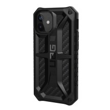 UAG Monarch Case for Apple iPhone 12 Mini (Black Carbon Fiber)