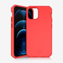 ITSKINS Hybrid Silk Case for Apple iPhone 12 Pro Max (Coral)