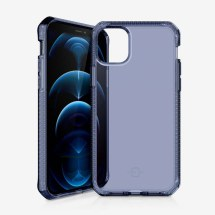 ITSKINS Clear Spectrum Case for Apple iPhone 12 Pro Max (Deep Blue)