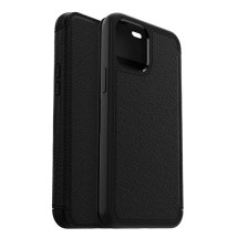 OtterBox Strada Wallet Case for Apple iPhone 12 Pro Max (Shadow Black) (Closeout)
