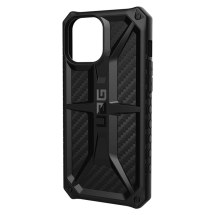 UAG Monarch Case for Apple iPhone 12 Pro Max (Black Carbon Fiber)