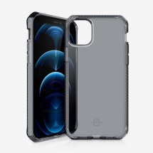 ITSKINS Clear Spectrum Case for Apple iPhone 12 & 12 Pro (Smoke)