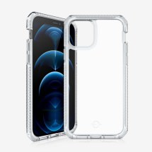 ITSKINS Supreme Clear Case for Apple iPhone 12 & 12 Pro (White & Clear)
