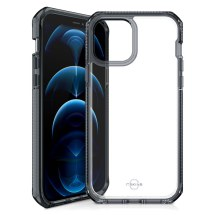 ITSKINS Supreme Clear Case for Apple iPhone 12 & 12 Pro (Smoke & Clear)