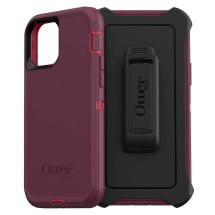 OtterBox Defender Case for Apple iPhone 12 & 12 Pro (Berry Potion)