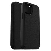 OtterBox Strada Wallet Case for Apple iPhone 12 & 12 Pro (Shadow Black)