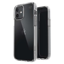 Speck Presidio Perfect Clear Case for Apple iPhone 12 & 12 Pro (Clear)