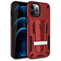 Zizo Transformer Hybrid Case for Apple iPhone 12 Pro Max (Red & Black)