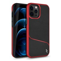 Zizo Division Case for Apple iPhone 12 Pro Max (Black & Red)