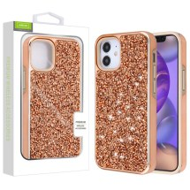 Airium Crystal Sparks Case for Apple iPhone 12 Mini (Rose Gold)
