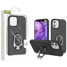 Airium Anti-Drop Case with Bottle Opener for Apple iPhone 12 Mini (Black)