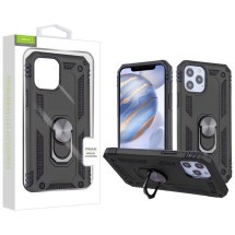 Airium Anti-Drop Hybrid Case for Apple iPhone 12 & 12 Pro (Black)